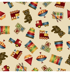 toy pattern vector image vector image