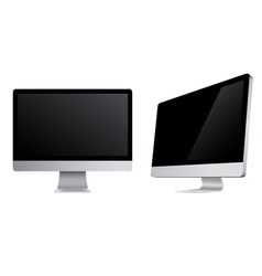 monitors icons vector image