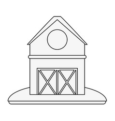 Barn house or home icon image vector