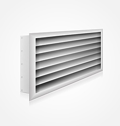 Ventilation louver vector