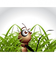 ant character vector image