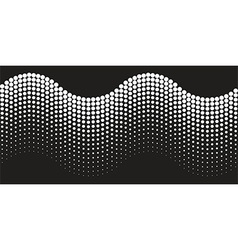 Abstract background halftone wave vector image