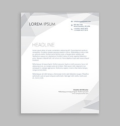 Business letterhead card vector