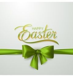 Holiday Religious Easter Lettering vector image