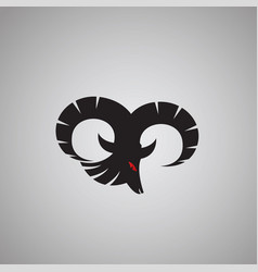 Ram logo ideas design vector