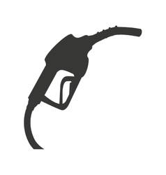 Gasoline pump isolated icon design vector