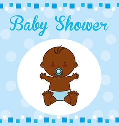 baby card vector image vector image