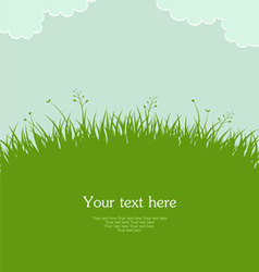 Grass template pic vector