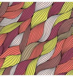 Seamless tangled pattern waves background copy vector