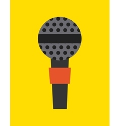 microphone device isolated icon vector image