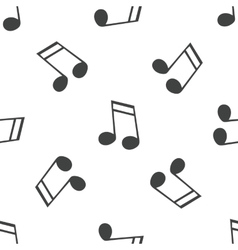 Sixteenth note pattern vector