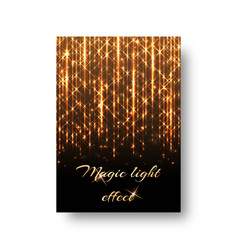 background with bright lights vector image vector image
