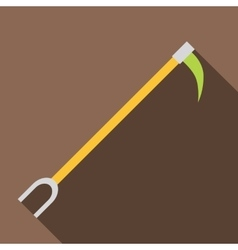 Hook icon flat style vector image
