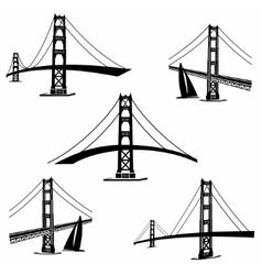 San Francisco 2 vector image vector image