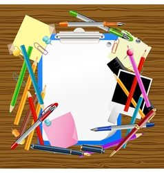 school background vector image vector image