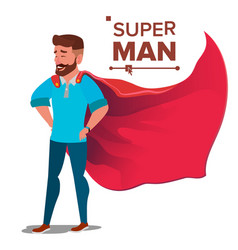 super businessman character successful vector image vector image