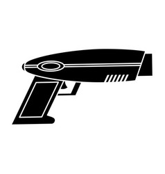 weapon virtual reality game pictogram vector image