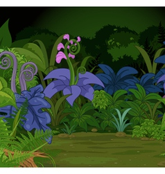 Jungle landscape vector