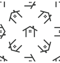 Cottage pattern vector