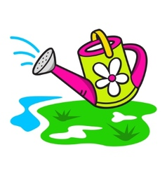 watering can vector image vector image