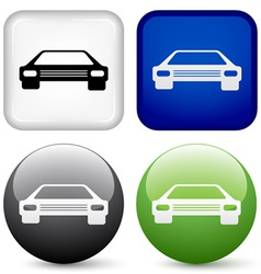 Car buttons vector