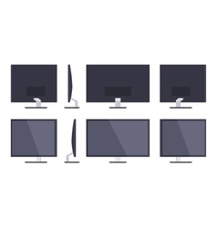 Hd monitor vector