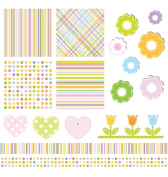 Decorative design elements vector image vector image