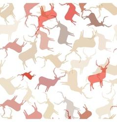 Retro Christmas pattern Seamless EPS10 vector image vector image