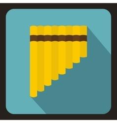 Xylophone icon flat style vector image