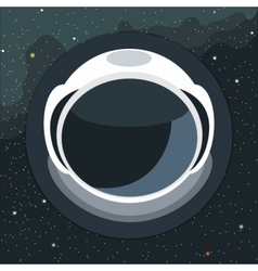 Digital with astronaut helmet icon vector