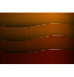 background red stripe wave vector image vector image