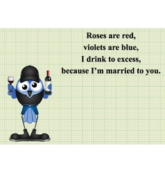 Drink poem vector