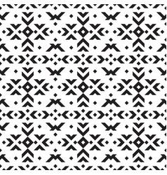 tribal geometric seamless pattern vector image