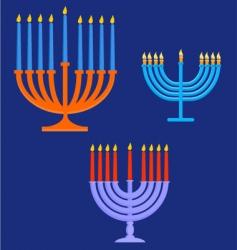 candelabra vector image