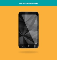 Abstract Crystal Smart Phone vector image