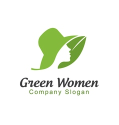 Green Women Design vector image vector image