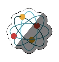 Isolated atom design vector