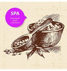 Spa background vector