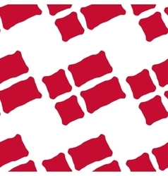 Danish flag seamless pattern vector