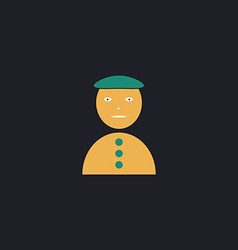 Clown jester computer symbol vector