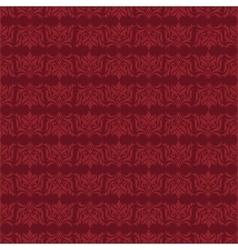 Damask style background vector image