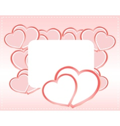 greeting scrapbook vector image vector image