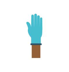 medicine gloves design vector image