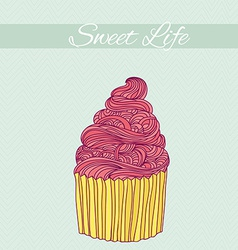Sweet card vector image vector image
