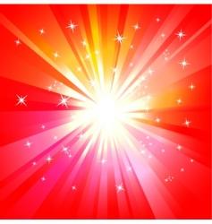 light explosion vector image