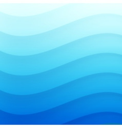 Blue wavy background for your design vector