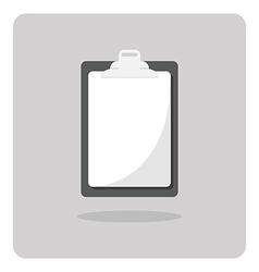 blank clipboard icon vector image