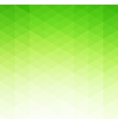 Abstract green geometric background template vector