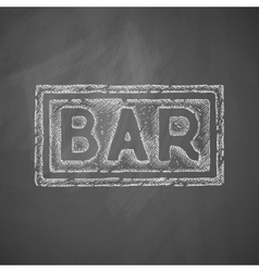 Bar icon vector