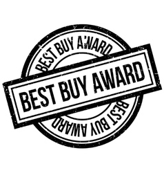 Best Buy Award rubber stamp vector image